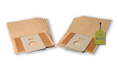 eVendix Staubsaugerbeutel passend für GoldStar Turbo 2000 | 10 Staubbeutel + 2 Mikro-Filter | kompatibel mit Swirl H28