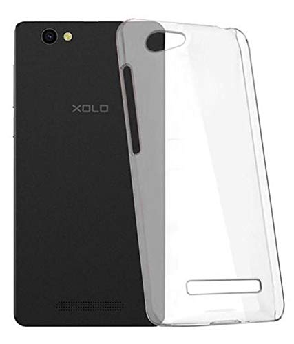 FCS Premium Clear Soft Silicon Transparent Back Case Cover for Xolo Era X