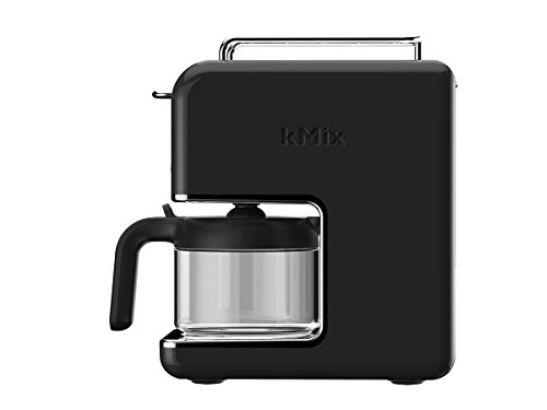 Kenwood CM 030BK New Mix Kaffeemaschine Pop Art, 0,75 Liter / marsschwarz