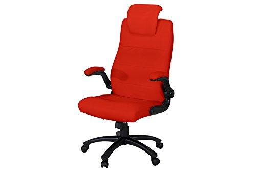 Miweba Büro- und Gamingstuhl Supreme aus Kunstleder mit Kopfstütze und hohen Armlehnen Bürostuhl...