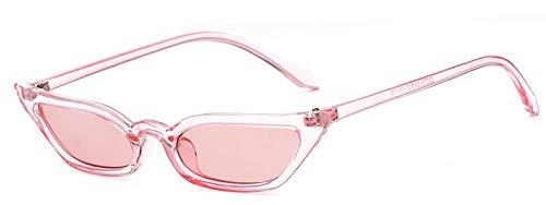Europa und die vereinigten staaten trend cat eye sonnenbrille kleine box sonnenbrille ozean film sonnenbrille metall scharnier leder karton verpackung schöne mode großzügig geschenk bevorzugt,Pink