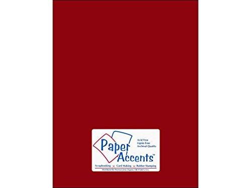 Accent Design Papier Akzente cdstk Stash Baumeister 8,5x 1165# Crimson -