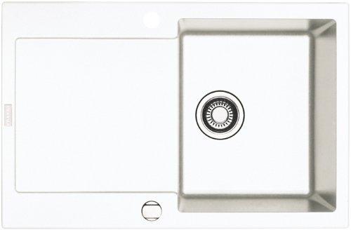Preisvergleich Produktbild Franke Maris MRG 611 Glacier Fragranit Küchenspüle Weiß Spülbecken Auflagespüle