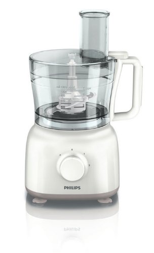 Philips HR7627/00 Robot da cucina Daily Collection, Multifunzione, 650 W, 6 accessori, 15 funzioni