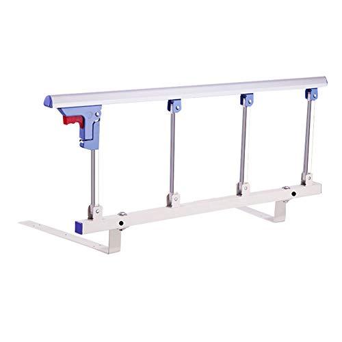 Laufstall Portable Bett Schiene Sicherheit Seitenschutz für ältere Menschen, Erwachsene & unterstützen Griff Handicap Bett Geländer Falten Krankenhaus Metall Grip Stoßstange -
