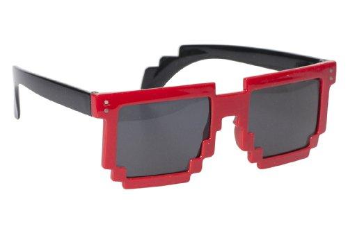 designer-8-bit-pixelated-sunglass-red-frame-black-stem