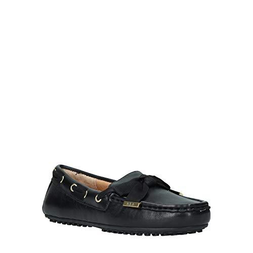 Lauren Ralph Lauren Becka Slipper & Chaussures Bateau Damen Schwarz - 37 - Slipper