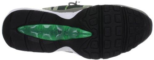 Nike, Nike Air MAX 95 NO SEW, Scarpe sportive, Uomo Mine Grey/Gamma Green/Mortar/White