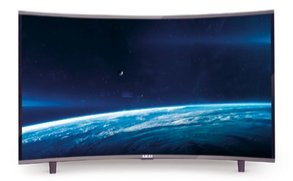 Akai ctv5035t televisore curvo 49 pollici tv led fhd smart android