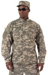 Acu Digital Uniform Shirt (Rothco Uniform Shirt, ACU Digital Camo, 3X)