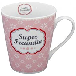 Krasilnikoff Tasse Super Freundin