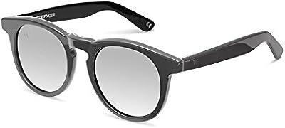Wolfnoir Hathi Ace Stone Grey, Gafas de Sol Unisex, Gris / Gris Plata, 45