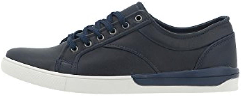 levon hommes est bleu coupé court souliers bleu est de taille uk 7,5 064b2e