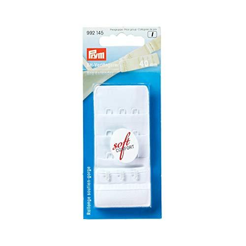 PRYM BH-Verlängerer 40mm Farbe: weiß # 992145 NEU in OVP