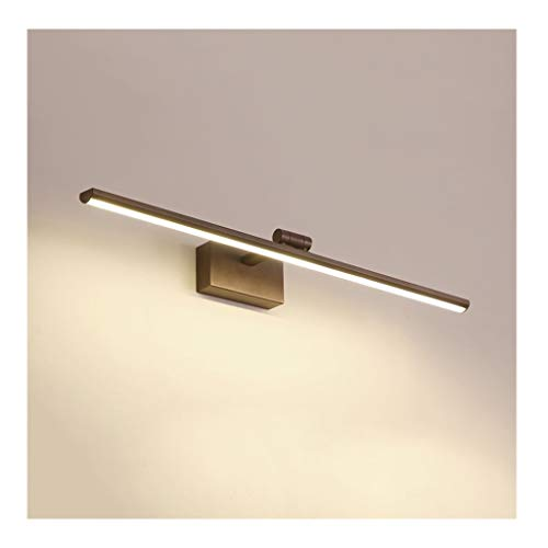 William 337 Modernes, Minimalistisches Badezimmer-Design. Drehbarer Lampenkopf, Wasserdicht Und Beschlagfrei In Vier Größen [Energieklasse A +] (Farbe : B-80cm)