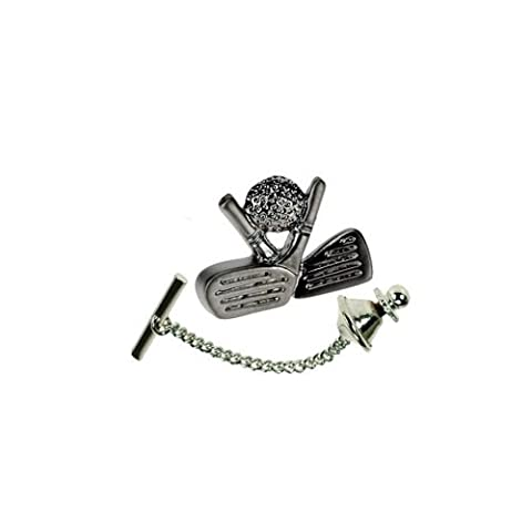 Mens Golf Tie Pin, gift idea for golfers of all standards