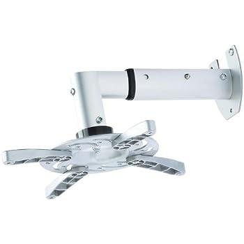 Universelle Beamer/ Projektor Wandhalterung ausziehbar von 25,5cm bis 33cm 30° neigbar 180° drehbar ALLE Beamer Hersteller