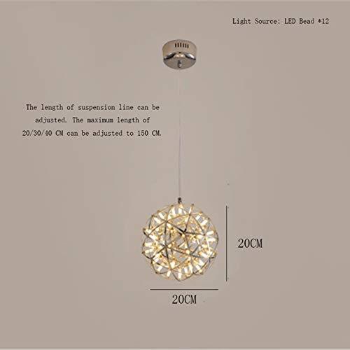 Holz Bambus Kunst LED Beleuchtung Rattan Pendelleuchte Led Pendelleuchte Feuerwerk Ball Edelstahl
