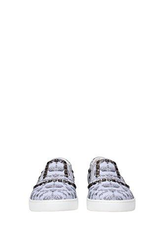 CS1321A67498P803 Dolce&Gabbana Pantoufle Homme Cuir Céleste Céleste