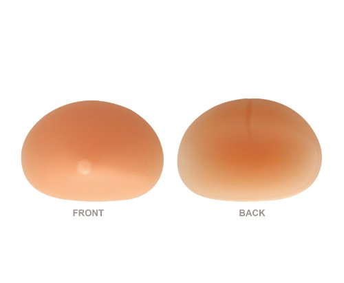265g/pair - SODACODA Soft Big Full Breast Silicone Inserts with Nipples - Chicken Fillets Breast Enhancers For Bras Swimsuits and Bikini - maximum cleavage suitable for A B C D Cups - Skin Colour