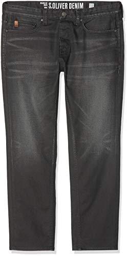 s.Oliver Big Size Herren Straight Jeans 15.810.71.5398 Grau (Grey Denim Stretch 96z4) W40/L32