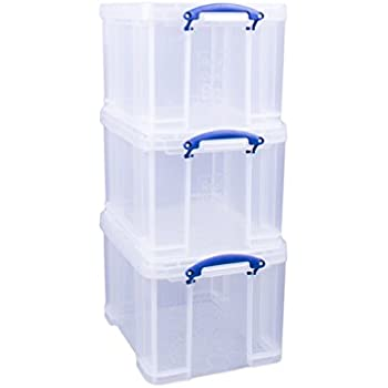 Really Useful Box Aufbewahrungsbox mit Einsatz 2,5 Liter