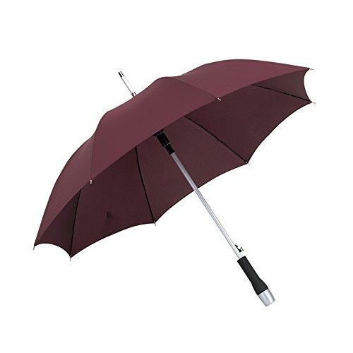 Schirm Automatik-Schirm Golf Schirmhülle Stockschirm Taschenschirm Reisezubehör von noTrash2003® (Pflaume) (Pflaume Regenschirm)