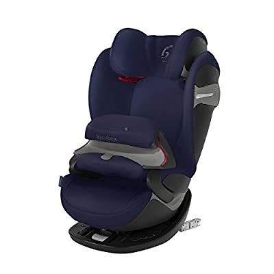 cybex Gold Pallas S-Fix Car Seat, Group 1/2/3, Denim Blue
