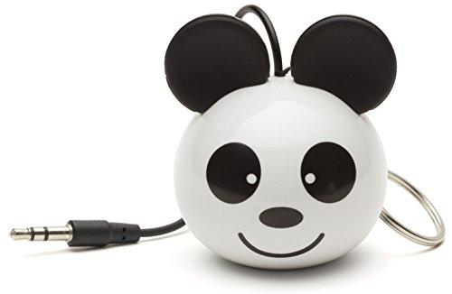 KitSound KSNMBPAN - Altavoz portátil, diseño de oso Panda