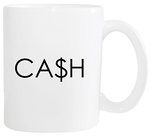 Mister Merchandise Kaffeetasse Cash Ca$h Money Rich Teetasse Becher, Farbe: Weiß