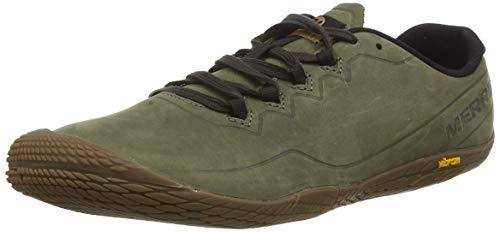 Merrell Herren Vapor Glove 3 Luna Leather Sneaker, Grün (Dusty Olive), 43 EU