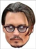 Johnny Depp en carton Mask (Masque/Coiffe