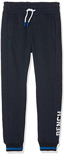 Bench Jungen Jogginganzug Slim Sweat Pants, Blau (Dark Navy Blue NY031), 128 (Herstellergröße: 7-8)