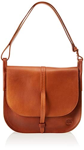 Timberland Borsa Postina In Pelle  Women   s Cross-Body Bag  Brown  Glazed Ginger
