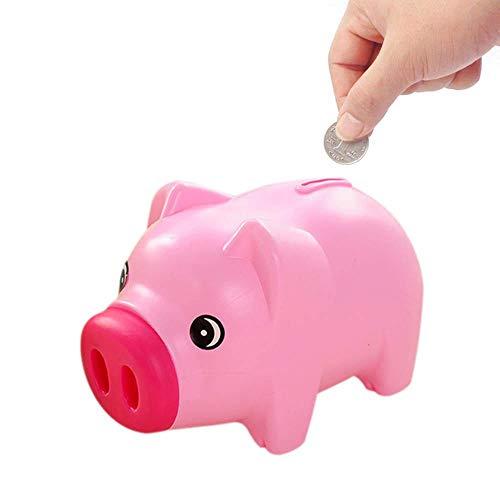 TEEPAO Hucha Forma Cerdo Ahorrar Monedas Dinero Efectivo