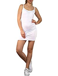 Amazon.fr   Blanc - Fonds de robe   Combinaisons et jupons   Vêtements 9dbdf1c648c6