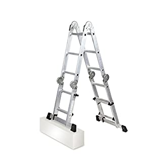 arcama 316 – Telescopic Articulated Ladder EN131 (4 x 3 Rungs)