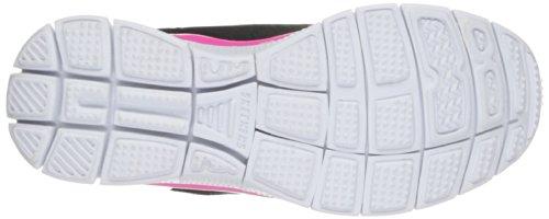 Skechers Appeal, Chaussures de sports en salle fille Blanc (Blanc/Noir/Fuchsia)