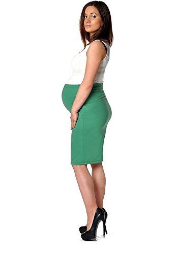 AE - Jupe spécial grossesse - Femme Vert - Vert