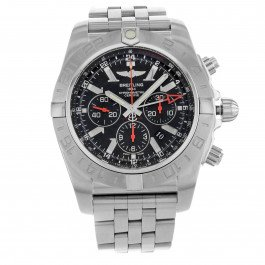Breitling AB041210/BB48 – 384 A – Watch Stainless Steel Strap, Steel Colour