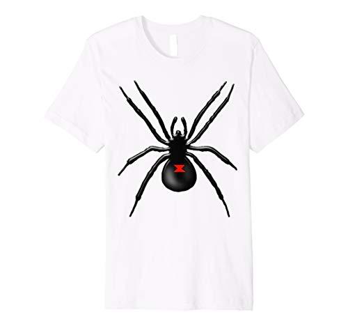 (Black Widow Spider Halloween-Kostüm T Shirt)
