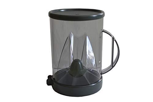 Doso Kaffeedosierer Kaffeeportionierer Dosierer f.gemahlenen Kaffee NEU grau (Grau)