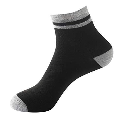 Plttey uomo calzini,uomini calzini colore solido cotone calzini uomo moda casuale calzini