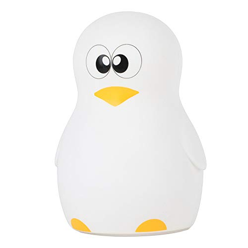 Kreative Pinguin Bunt Silikon-lampe Niedlich Pat Dekompression Silikon-nachtlampe Led Atmosphere Night Light Geschenke Brille Sprout-Pinguine