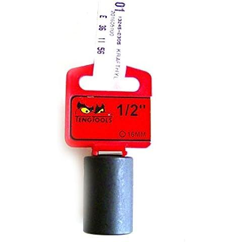 Teng tools cromo-molibdeno acciaio inox Parete Impatto Socket 16mm