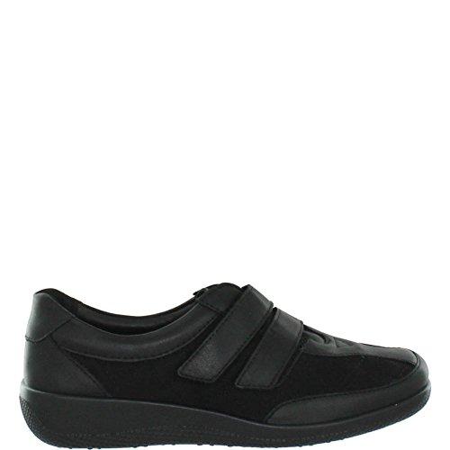 Hotter Faith, oxford Chaussures femme Noir