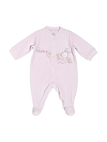 Chicco – Romper In Chenille with Opening Patello 18 mesi pink