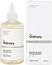 The Ordinary Glycolic Acid 7% Toning Solution (With 7% glycolic acid, amino acids, aloe vera, ginseng and tasmanian pepperbe