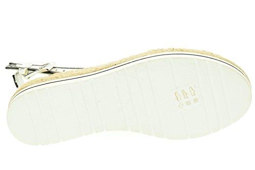 Sandales Nero Moschino bianco Ja16364g01je110b Love Femmes WYwH5ff7q