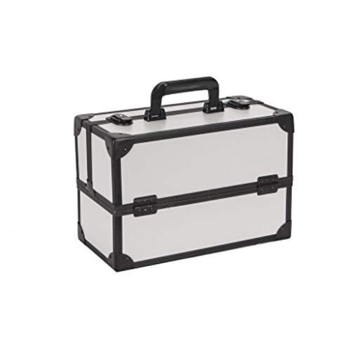 7cc21c9824 Sac cosmétique Boîte de Rangement Portable de Grande capacité Boîte de  Rangement cosmétique spéciale Portable Simple